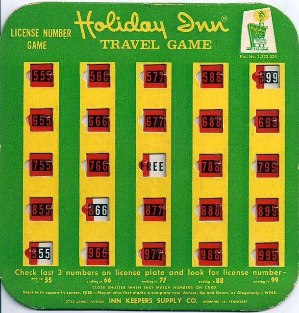 Vintage Holiday Inn Travel Game (1950s), Via Flickr