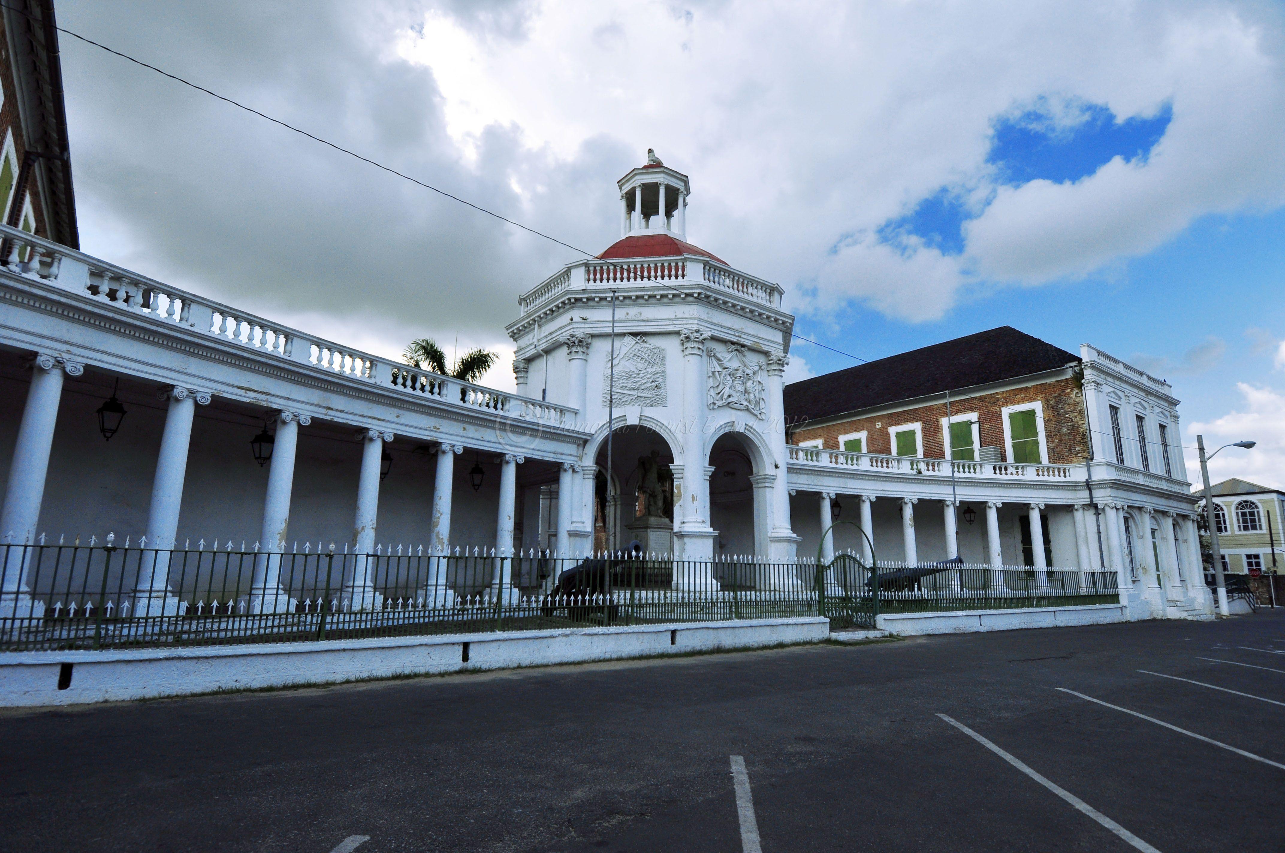 Spanish Town The Original Capital Of Jamaica Until 1872 Boasts Impressive Examples Of Original Spanish Colonia Jamaica History Jamaica Holidays Spanish Towns
