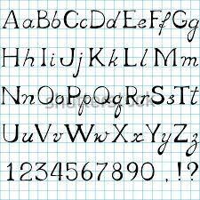 Resultado De Imagen Para El Abecedario En Letra De Carta Mayuscula