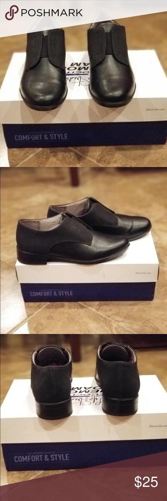Style stride memory foam shoes 6.5