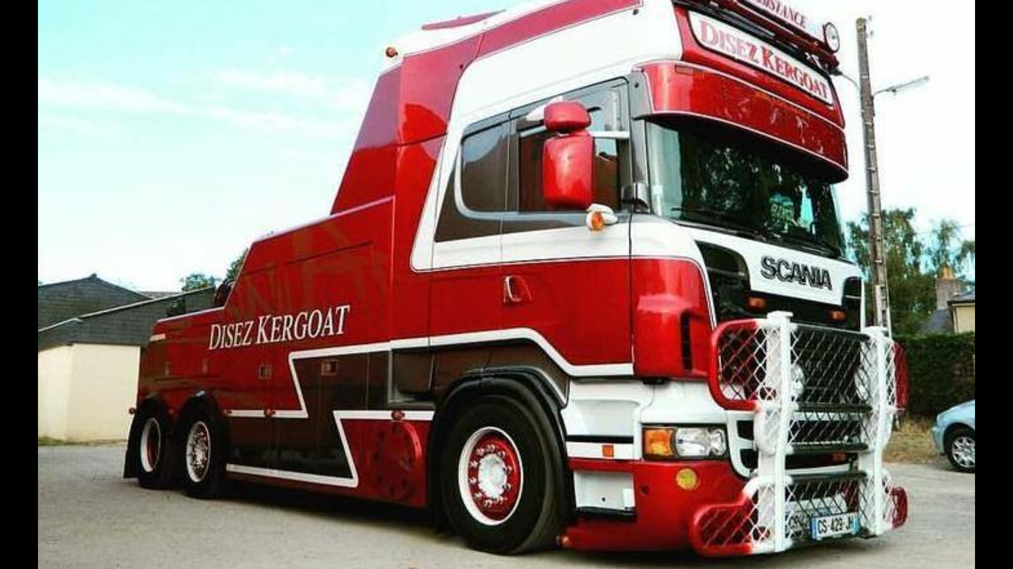 Man tow wrecker truck scania man und co pinterest tow truck rigs and biggest truck