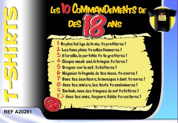 Carte Anniversaire 18 Ans Humour Df85 Jornalagora