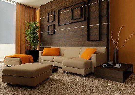 rhythm by opposition   Minimalist living room