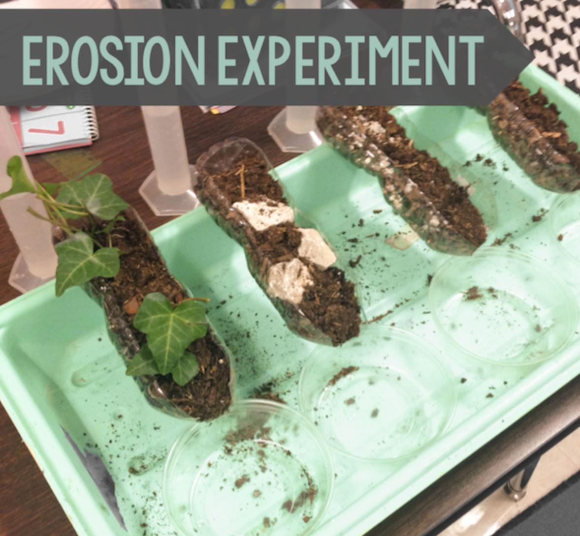 Erosion Experiment In