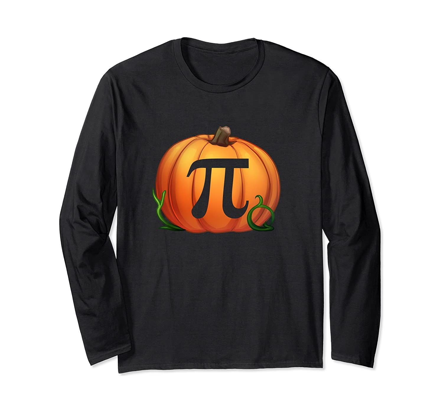 Funny Math Geeks Pi Day Gift Christmas Pumpkin Pie Men Women Long Sleeve T-Shirt