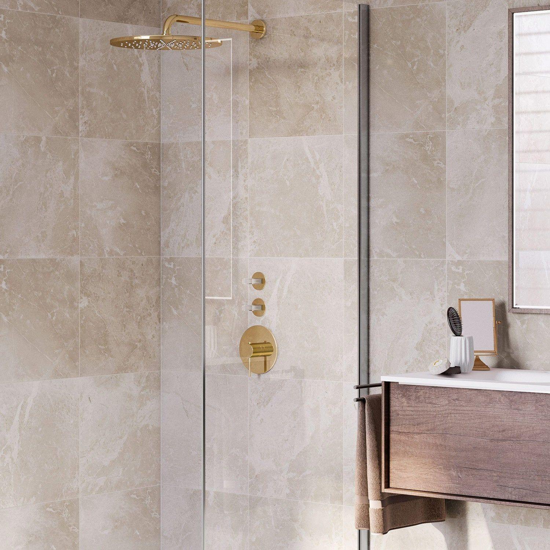 Des Sols Et Des Murs Avis pierre naturelle mur et sol marbre beige brillant l.40 x l