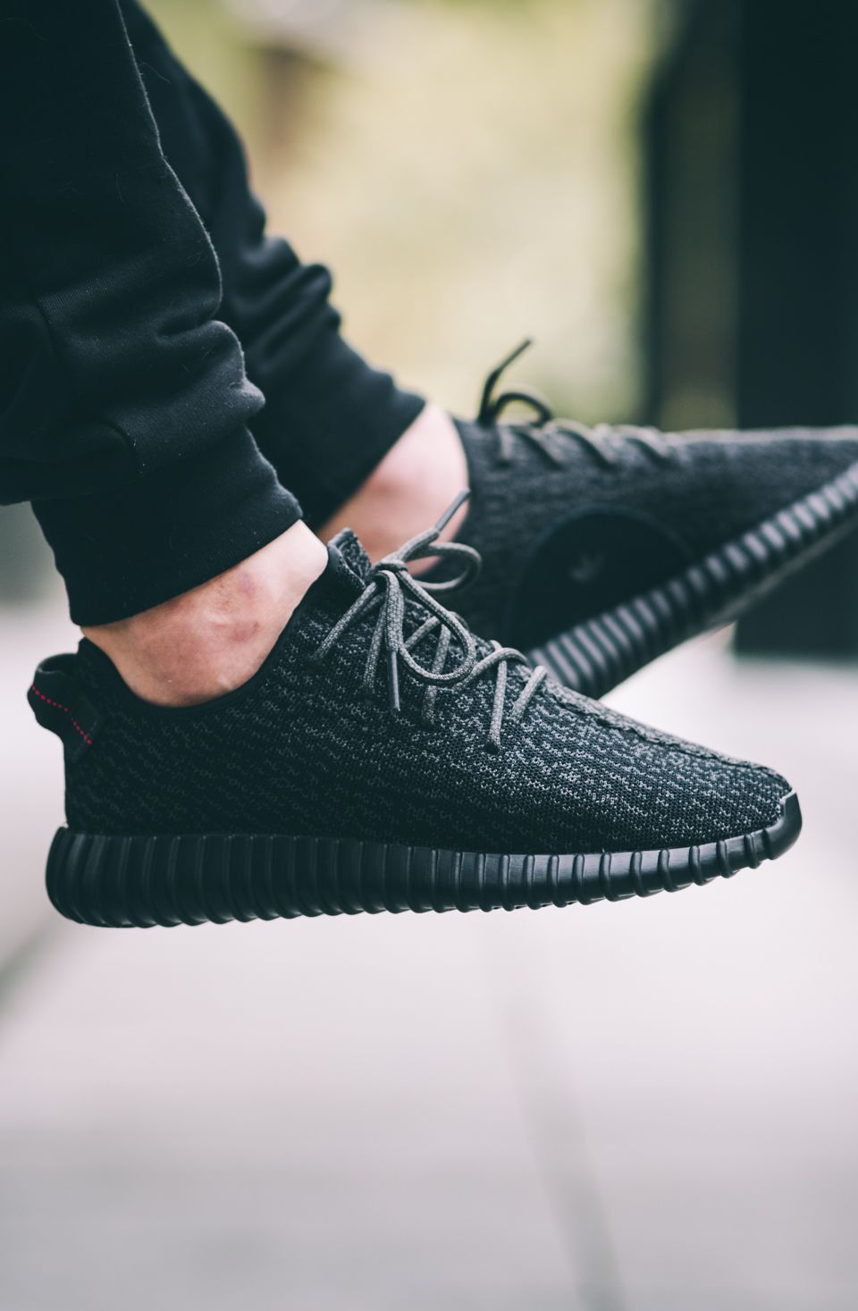 adidas Originals Yeezy 350 Boost 'Pirate Black' (via Kicks-daily.com