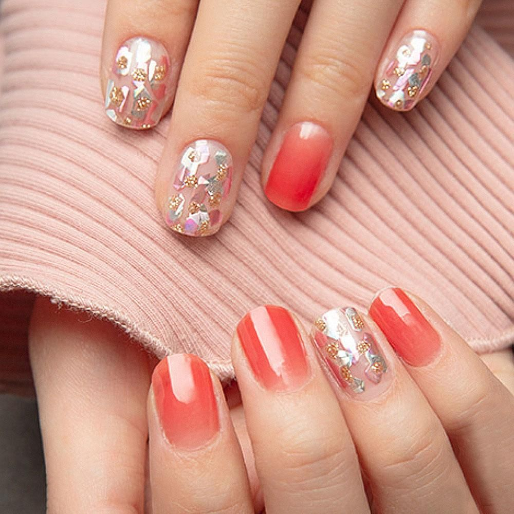 No Damage No Dry Time Get Salon Quality Gel Nails In 10 Minutes Gel Nails Without Uv Light Easy Peel Off Remova Gel Manicure Nails Gel Nails Gel Manicure