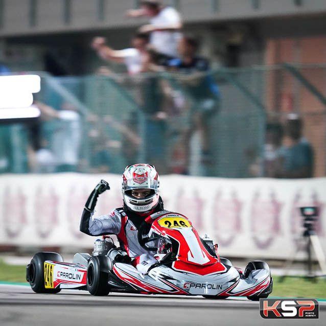 WSK Euro Series OK Adria Mini' victorieux, Travisanutto
