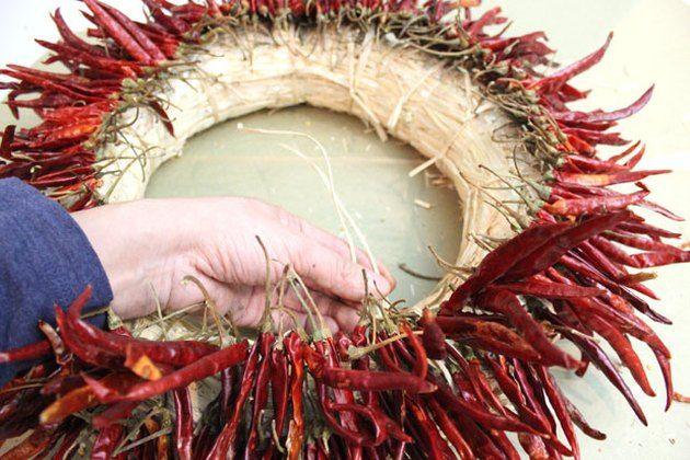 Photo of How to Make a Chili Pepper Wreath | eHow.com