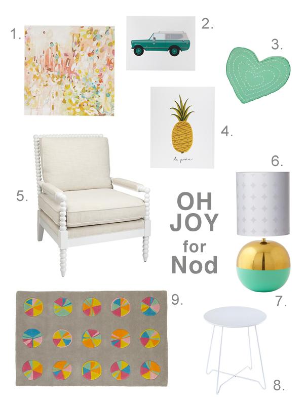 Oh Joy for Nod mood board. @Matty Chuah Land of Nod @Jò in ...