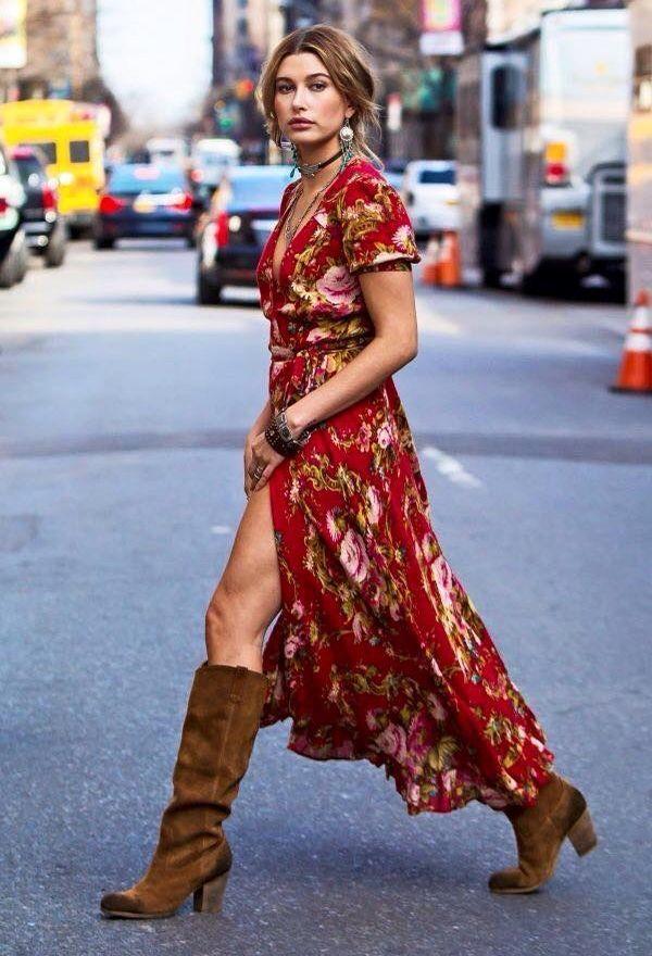 Cómo usar maxi vestidos en otoño [fotos] | ActitudFEM