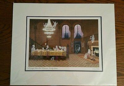 Disneyshauntedmansiondiningroomprint16X20Larrydotson  The Amazing Haunted Mansion Dining Room Decorating Inspiration