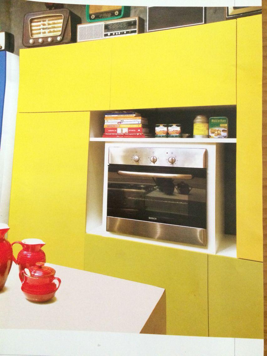 Idéia de armário cozinha