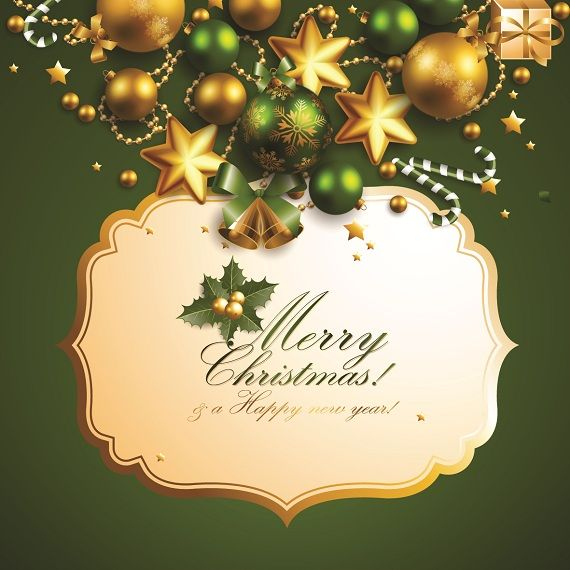 40 Exciting Christmas Ornaments and Greeting Card Templates DIY - greeting card templates