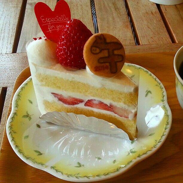 ショートケーキ(・∀・)
