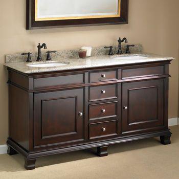"Manhattan 60"" Double Sink Vanity Mission Hills® costco"