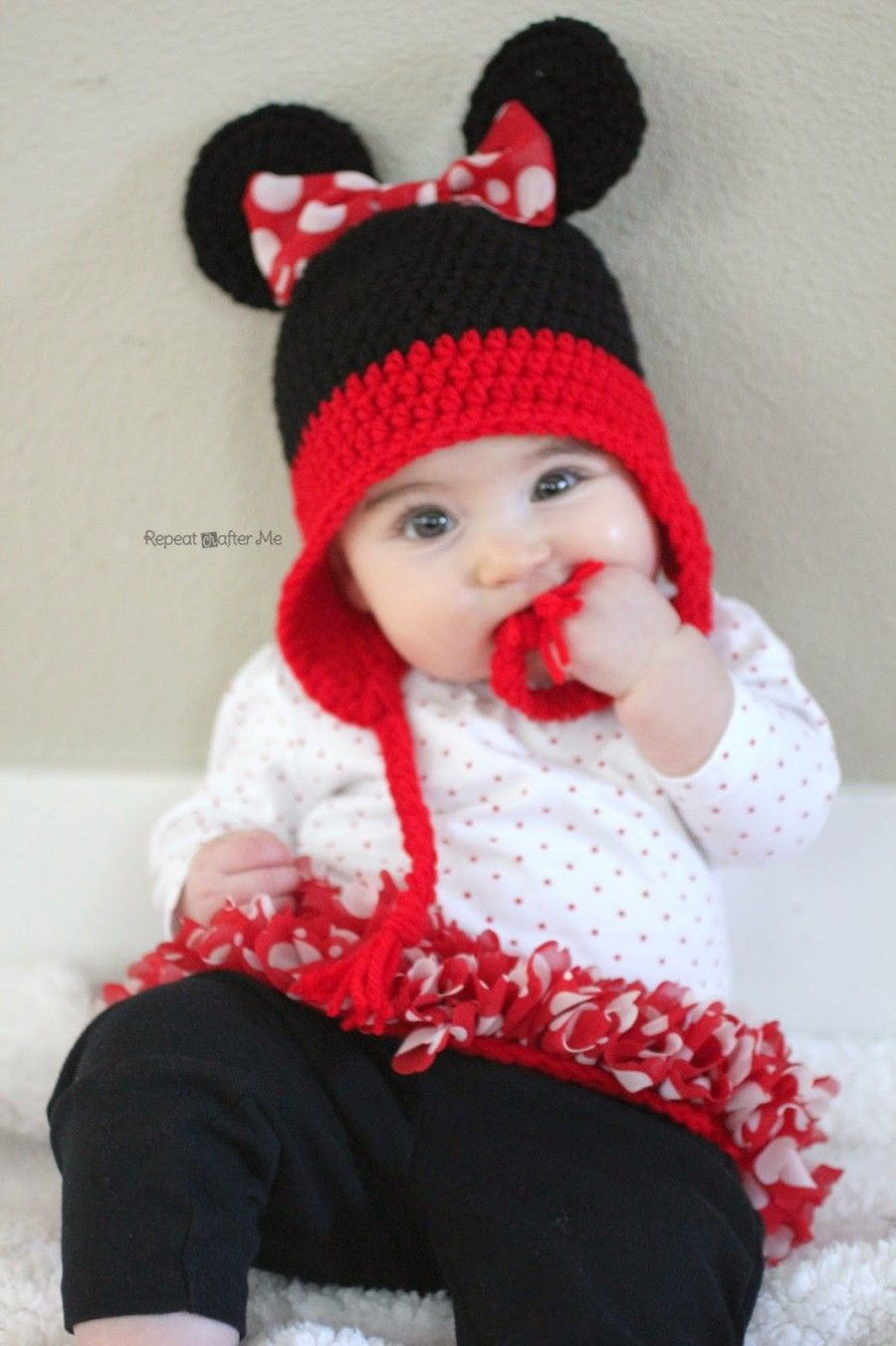 Mickey And Minnie Mouse Crochet Patterns | Free crochet, Minnie ...