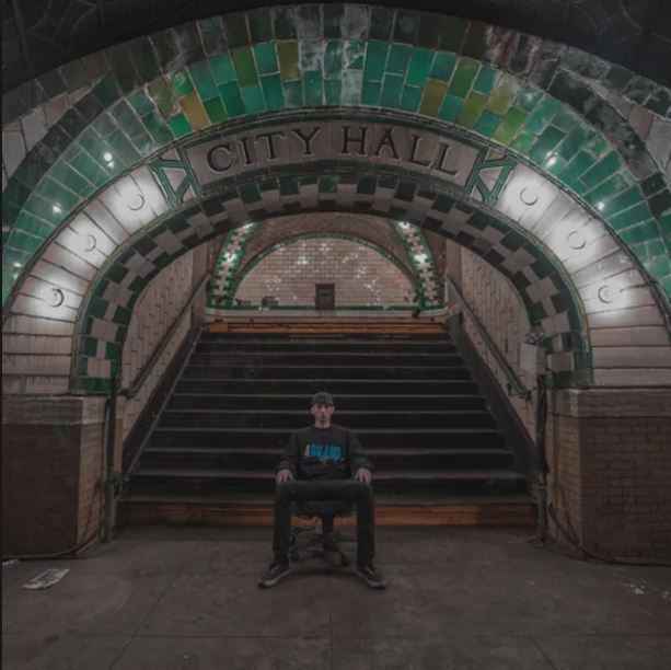 This Image In The Subways Of New York Was Taken By Gregory
