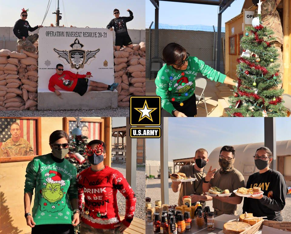 Soldiers Christmas Cheer In Iraq Christmas Cheer Patriotic Poems Cheer