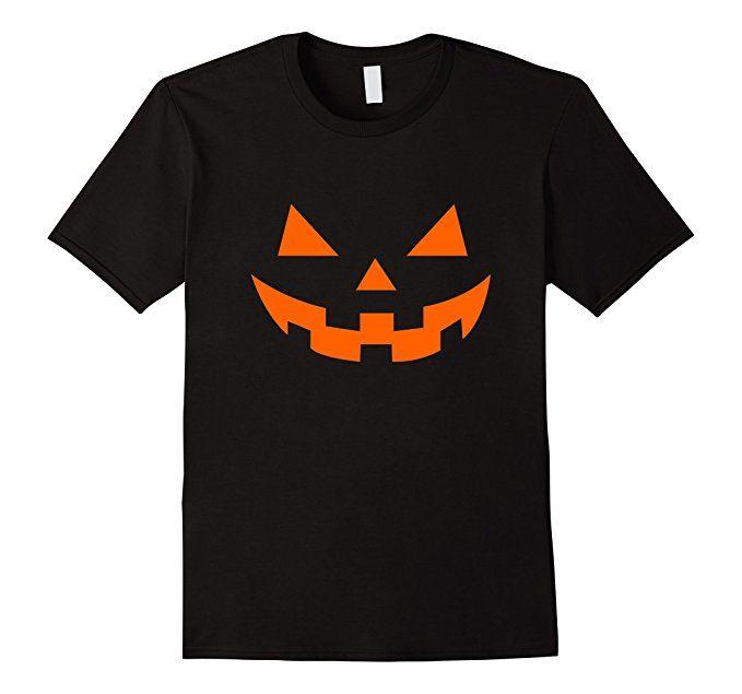 Men's Pumpkin's Horror Smile - Halloween T-Shirt 2XL Black