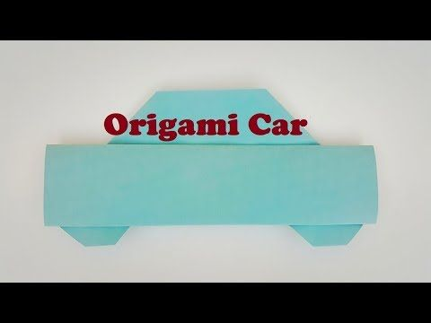 Origami Car Easy For Kidshow To Make Paper