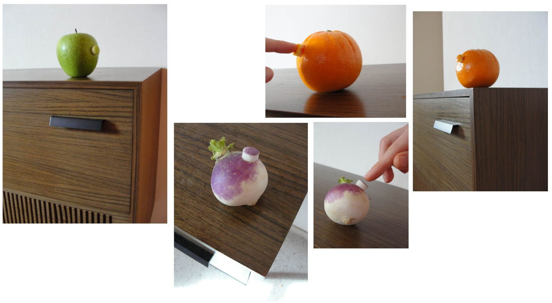 What if you push it ? de Laure-Anne Caillaud  / #food_design, design culinaire