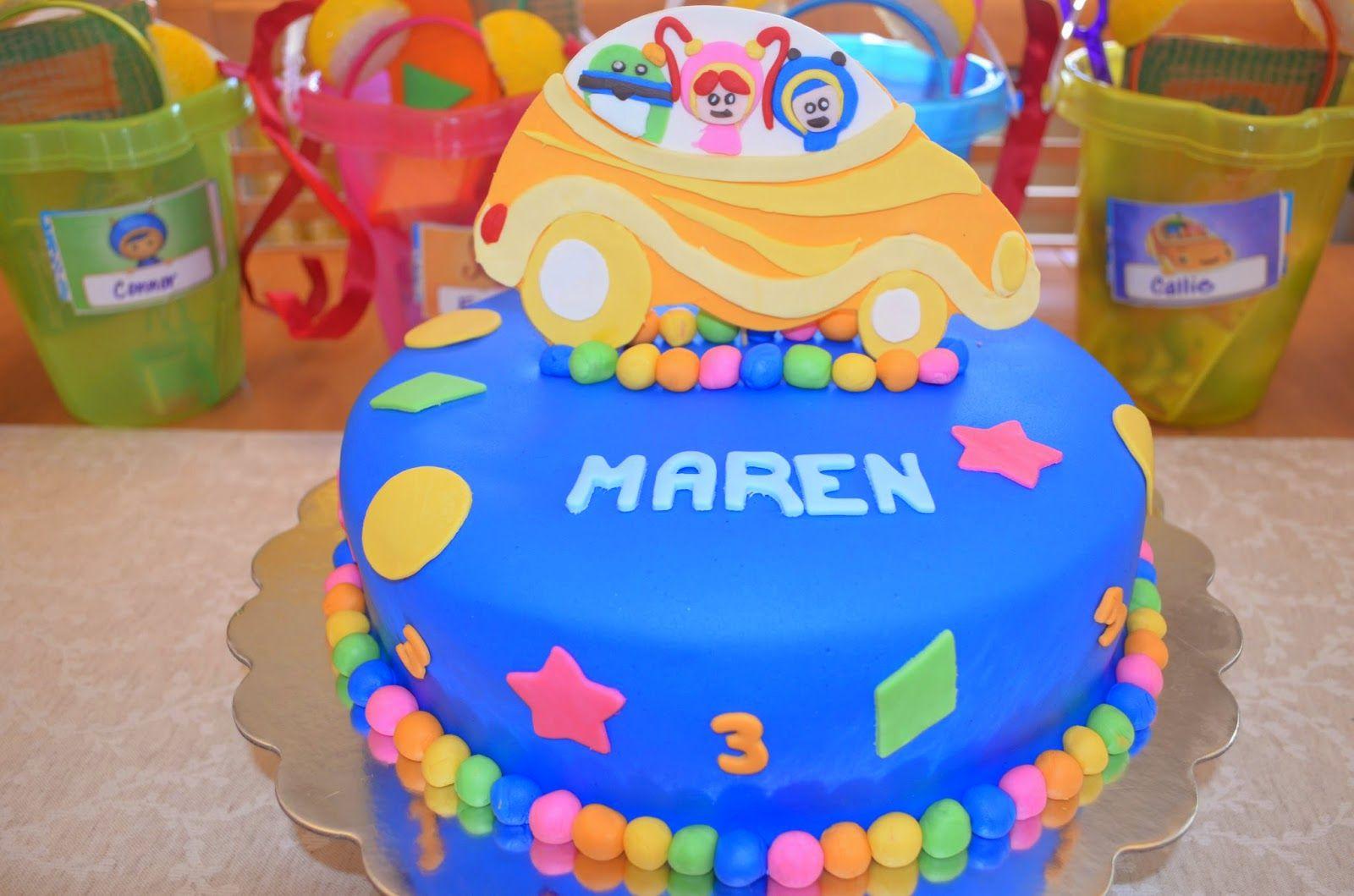 Fantastic Team Umizoomi Birthday Cake Cake Birthday Cake Birthday Personalised Birthday Cards Arneslily Jamesorg