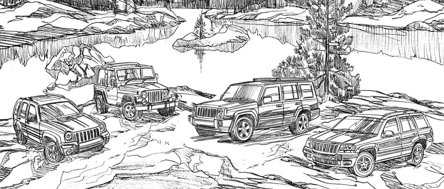 Jeep Liberty, Wrangler, Commander and Grand Cherokee ...