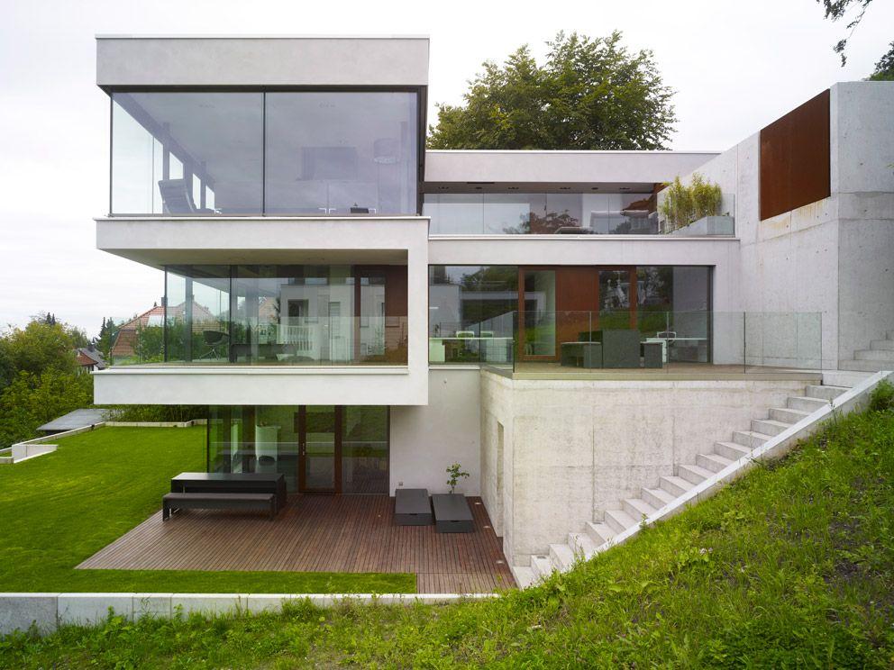 Kalifornische Moderne in Bielefeld Bogenhaus