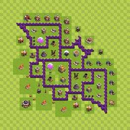 Clash Of Clans Maps Town Hall 7 War Google Zoeken Clash Of Clans Clash Of Clans Game Clan