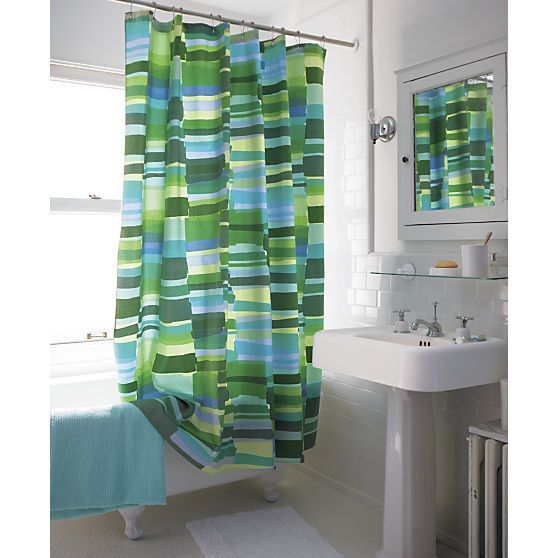 Tilkkula Seaglass Shower Curtain In Shower Curtains Rings Crate