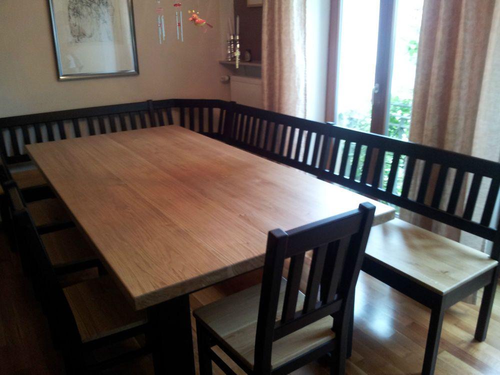die besten 25 eckbank eiche ideen auf pinterest sitzbank eiche wohnzimmertisch eiche und. Black Bedroom Furniture Sets. Home Design Ideas