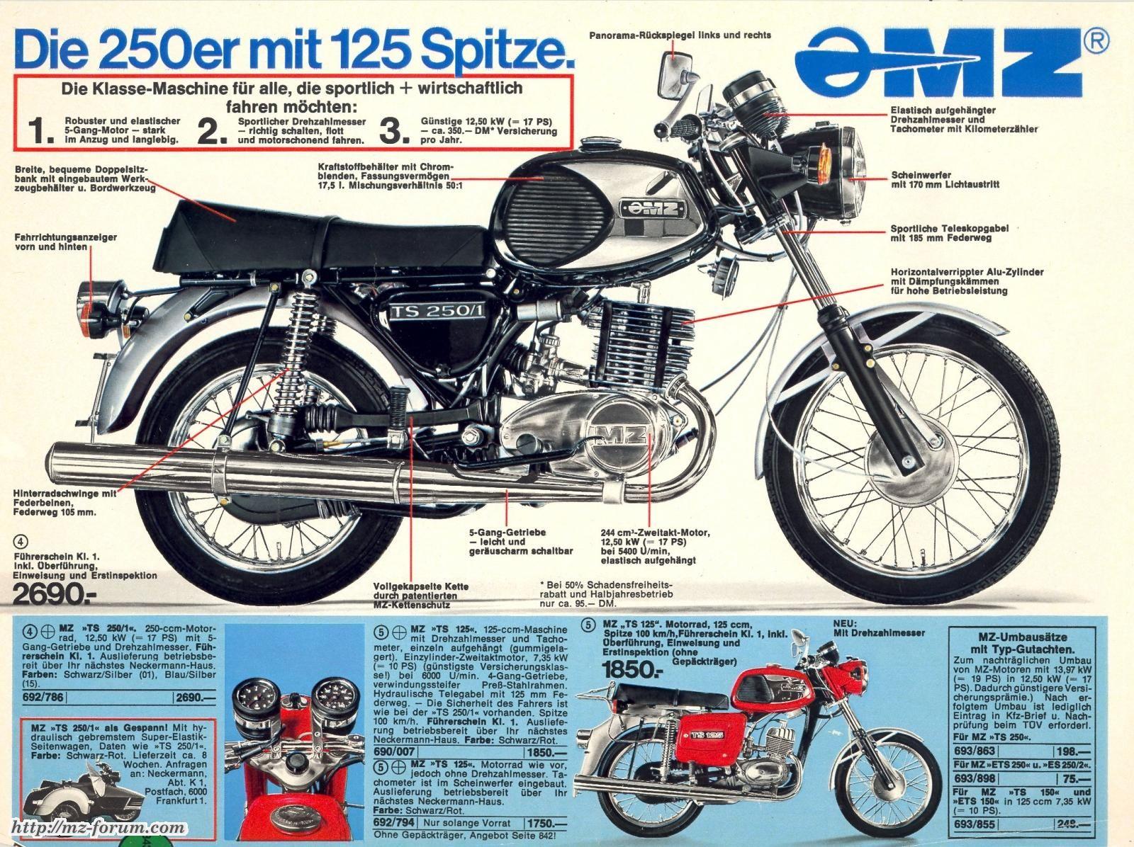 mz-ts 250/1 - Album | Simson/IFA | Pinterest | Motorräder, Ddr und ...