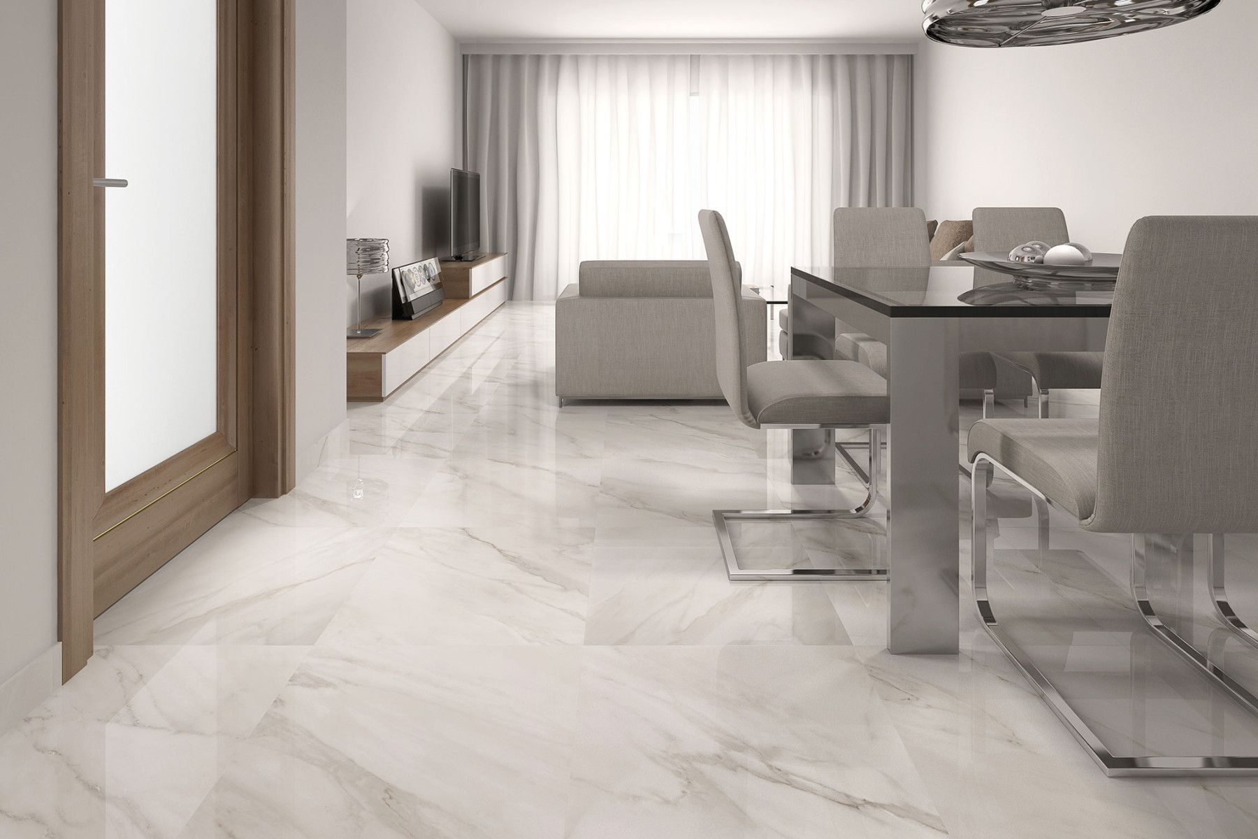 Calacatta geotiles tile and quartz pinterest calacatta white gloss floor tiles at trade prices from direct tile warehouse see quality large floor tiles including stylish large white tiles dailygadgetfo Image collections