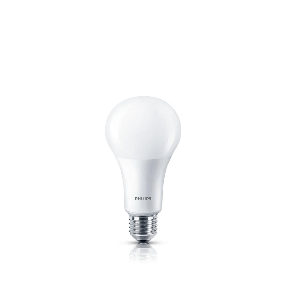 Philips 100w Equivalent Frosted A21 Dimmable With Warm Glow Effect Led Light Bulb Led Light Bulb Light Bulb Dimmable Led Lights