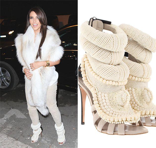 Kim Kardashian Kanye West Shoes Jpg 630 600 Pixels Kim Kardashian Kanye West Kim Kardashian And Kanye Fashion