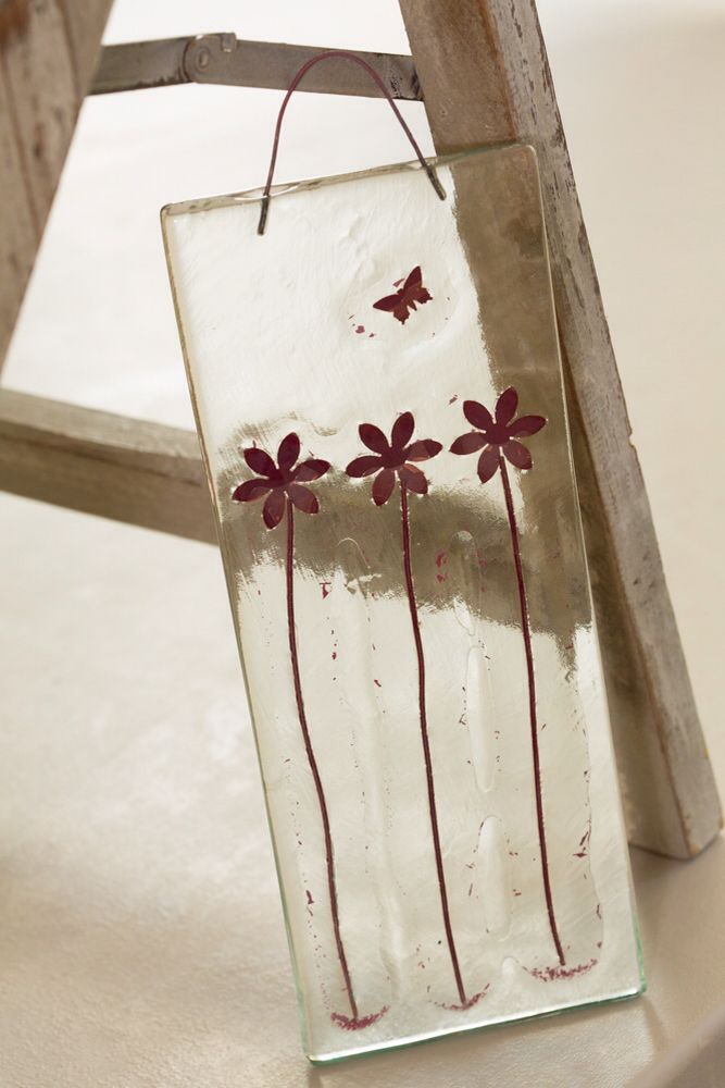 Flowers - Recycled glass