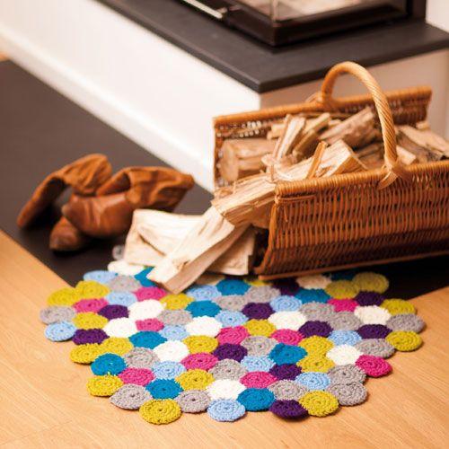 wohnaccessoires h keln kissen poufs und mehr crochet house home garden pinterest. Black Bedroom Furniture Sets. Home Design Ideas