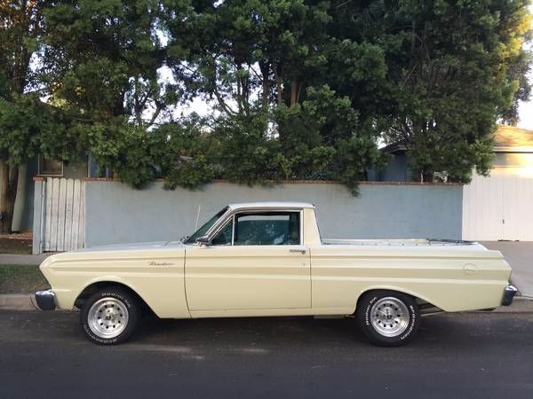 1964 Ford Ranchero Pickup 1964 Ford Ford Classic Cars Ford