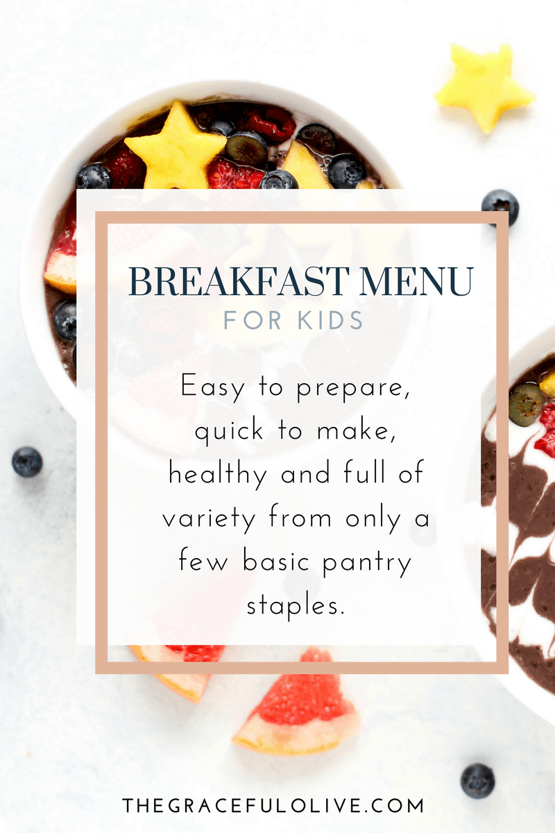 Are You Tired Of Scrambling To Create A Healthy Breakfast That Your Kids Will Eat In