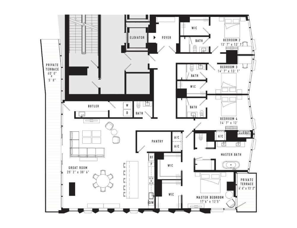 Condo Floor Plans Downtown Austin Tx Austin Proper Residences Condo Floor Plans Floor Plans Hotel Room Plan