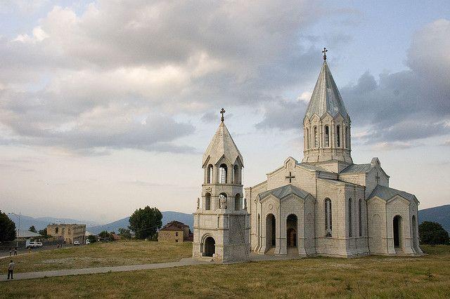 Shusha | Church architecture, Cathedral, Armenia