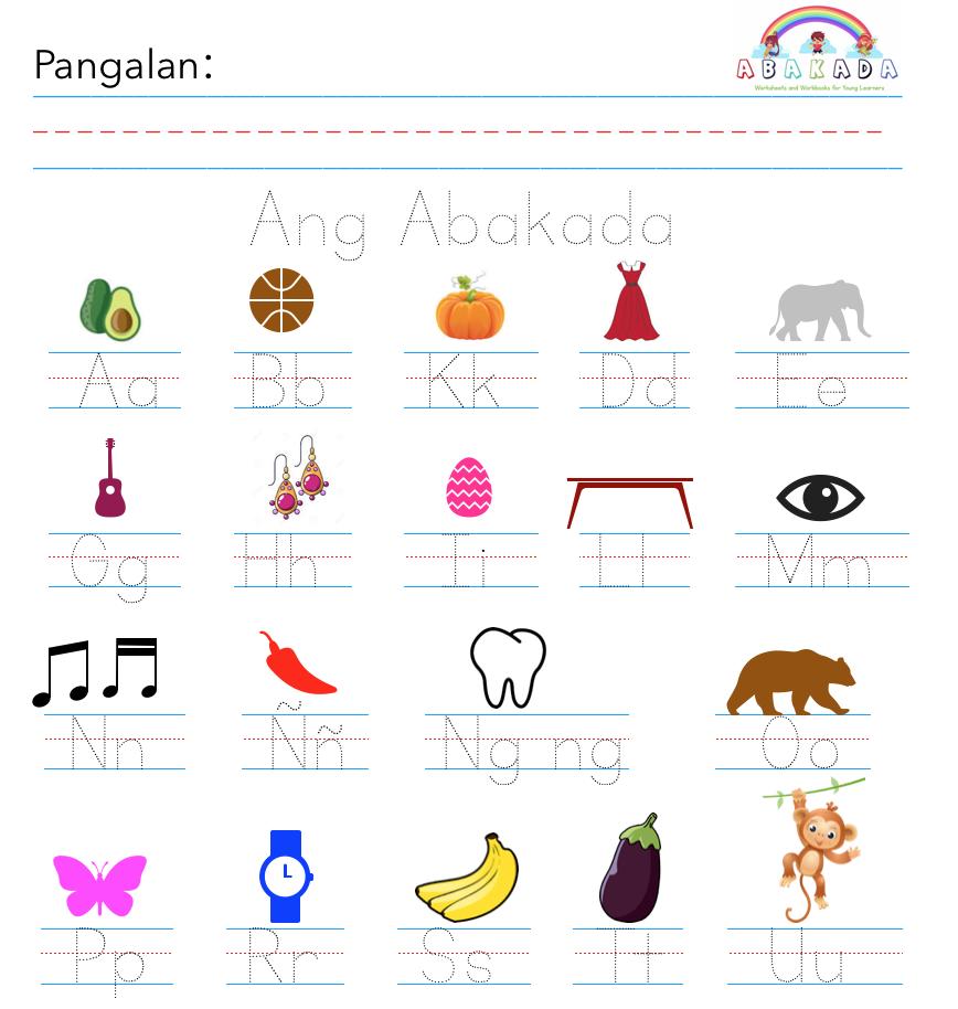 Abakada Writing Sheet Teaching Phonics Preschool Worksheets Writing Practice [ 914 x 868 Pixel ]