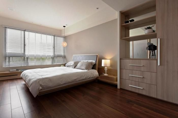 15 Amazing Bedroom Designs With Wood Flooring Rilane Modern Bedroom Design Apartment Bedroom Design Modern Bedroom Interior