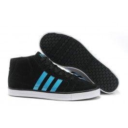 Køligt Adidas Vlneo Hoops Mid Shoes Sort Blå Hvid Herre Skobutik | Købe Adidas Vlneo Hoops Mid Shoes Low Skobutik | Adidas Skobutik Salg | denmarksko.com