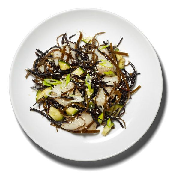 Seaweed Salad With Scallops Recipe - NYT Cooking