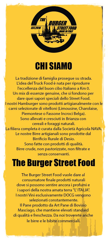 A NOI DI THE BURGER STREET FOOD PIACE MANGIARE ROBA GENUINA.
