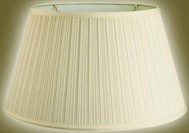 Mushroom Pleated Floor Lamp Shade Cream Hardback 12 X17 X10 13 X19 X11 Floor Lamp Shades Lamp Lamp Shade