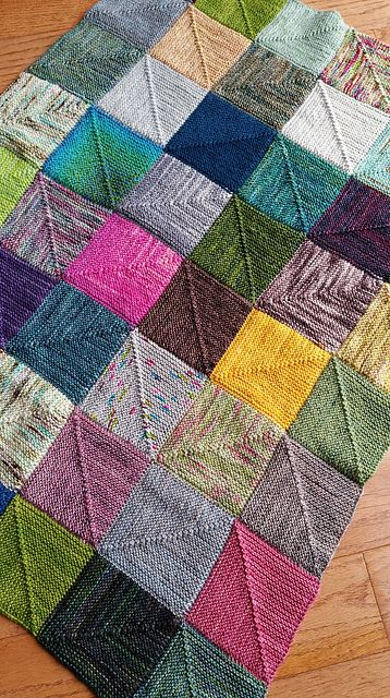 I designed this blanket for all of you who are a little bit like me A scrap blanket with no ends and no sewing together of squares and it still can be super fun and color...